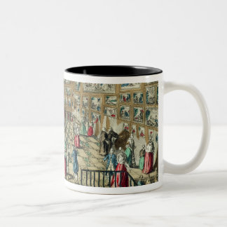Perspective View of the Salon of the Royal Academy Two-Tone Mug