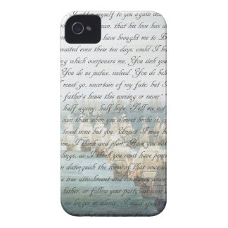 Persuasion Letter iPhone 4 Covers