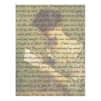 Persuasion Letter Postcard