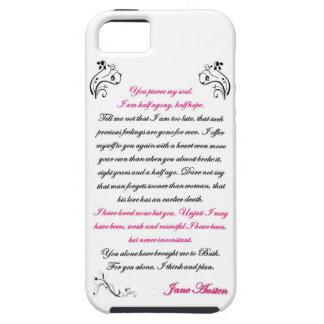 Persuasion Letter Quote - Jane Austen iPhone 5 Cases
