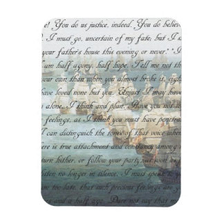 Persuasion Letter Rectangular Photo Magnet