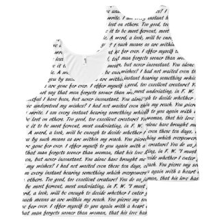 Persuasion Text All-Over Print Singlet