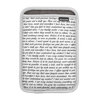 Persuasion Text iPad Mini Sleeve