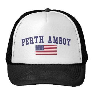 Perth Amboy US Flag Cap