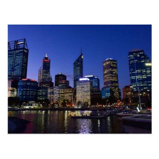 Perth, Australia cityscape photograph Postcard