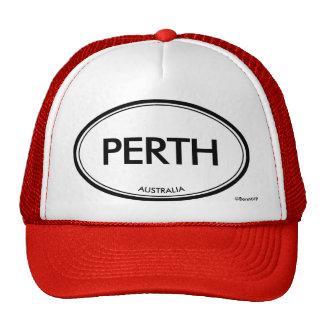 Perth, Australia Mesh Hats