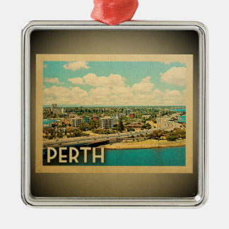 Perth Australia Ornament Vintage Travel