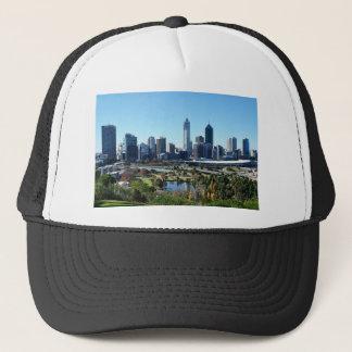 Perth Australia Skyline Trucker Hat