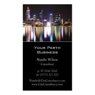 Perth City Skyline - Business Card