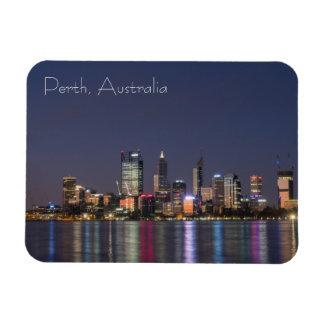 Perth city skyline magnet