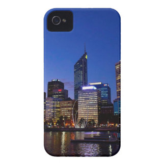 Perth Night Skyline iPhone 4 Covers