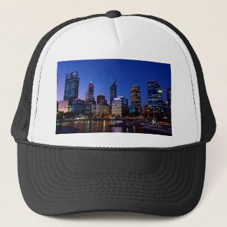 Perth Night Skyline Trucker Hat