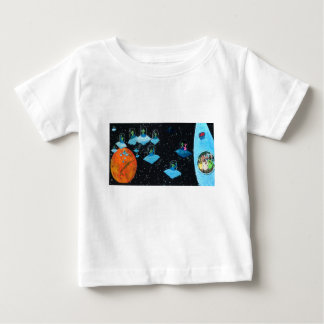 Perturbed Martians and some Cows Baby T-Shirt