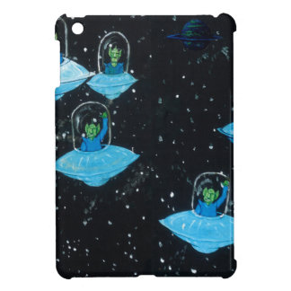 Perturbed Martians and some Cows Cover For The iPad Mini
