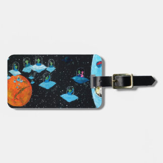Perturbed Martians and some Cows Luggage Tag