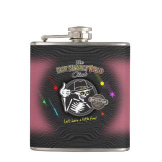 Perty In Pink Hip Flask
