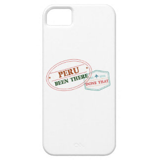 Peru Been There Done That Barely There iPhone 5 Case