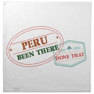 Peru Been There Done That Napkin