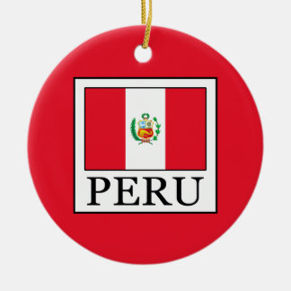 Peru Ceramic Ornament