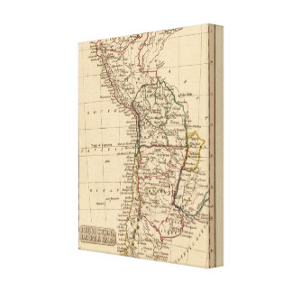 Peru, Chili, La Plata Stretched Canvas Prints
