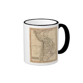 Peru, Chili, La Plata Ringer Coffee Mug