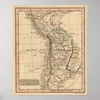 Peru, Chili, La Plata Poster