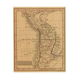 Peru, Chili, La Plata Wood Print
