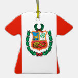 Peru Christmas Tree Ornament