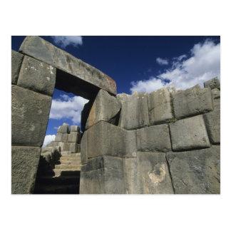 Peru, Cuzco, Sacsayhuaman fortress, good example Postcard