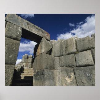 Peru, Cuzco, Sacsayhuaman fortress, good example Poster