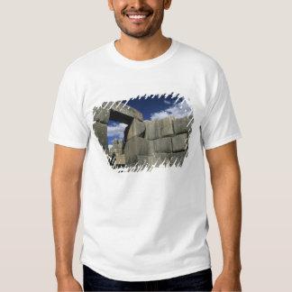 Peru, Cuzco, Sacsayhuaman fortress, good example Tshirt