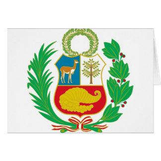 Peru - Escudo Nacional (National Emblem) Card