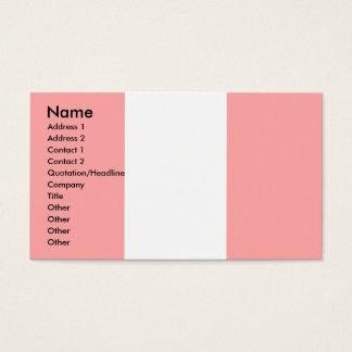 Peru Flag Business Card