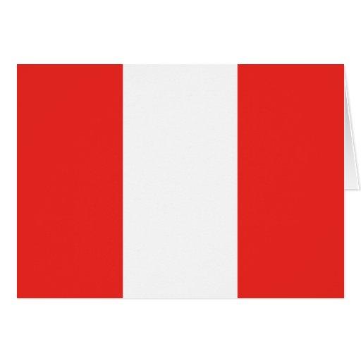 Peru Flag Cards