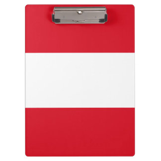 Peru Flag Clipboard