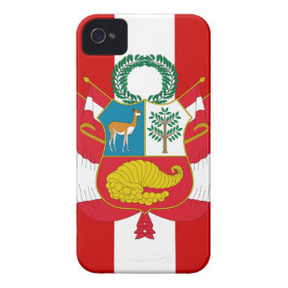 Peru Flag iPhone 4 Case-Mate Cases