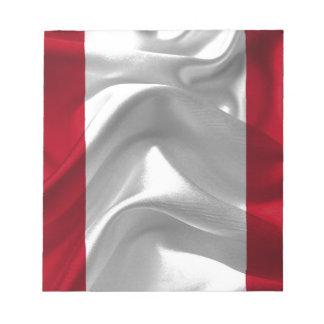 peru-Flag Notepad