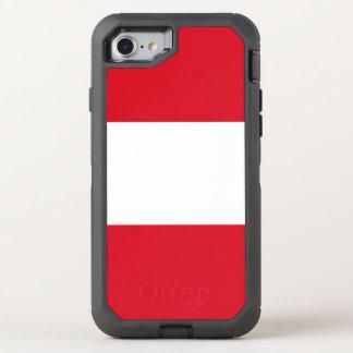 Peru Flag OtterBox Defender iPhone 8/7 Case