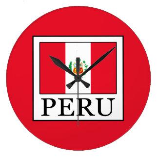 Peru Large Clock