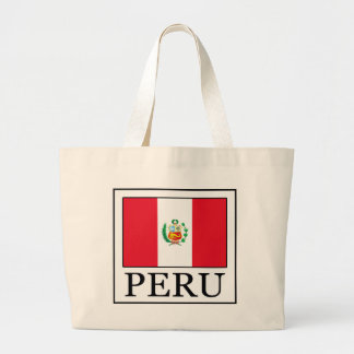 Peru Large Tote Bag