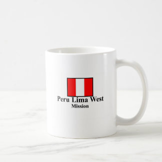 Peru Lima West LDS Mission Mug
