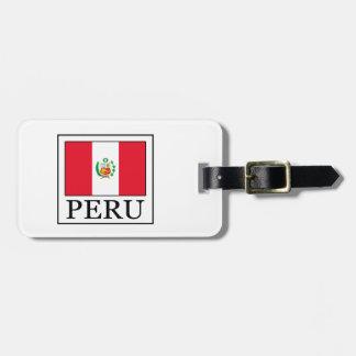 Peru Luggage Tag