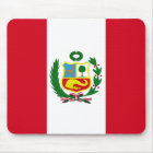 Peru National Flag Mouse Pad