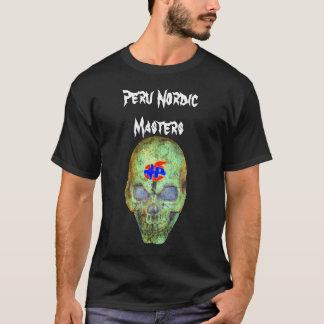 """Peru Nordic """"Skully"""" Black Tshirt"""