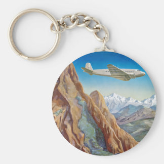 Peru of The Incas Basic Round Button Key Ring