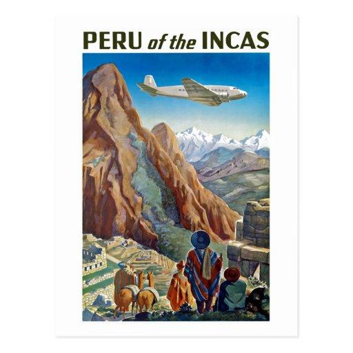 Peru of The Incas Post Cards