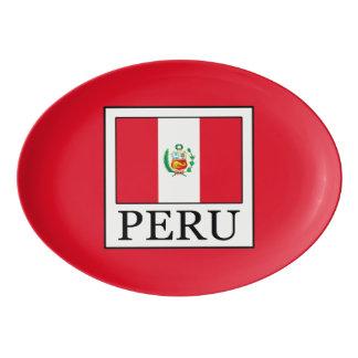 Peru Porcelain Serving Platter