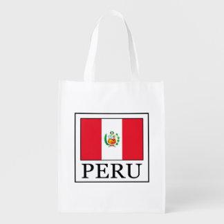Peru Reusable Grocery Bag