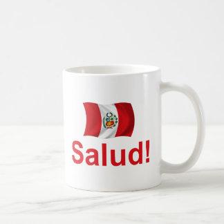 Peru Salud! Basic White Mug