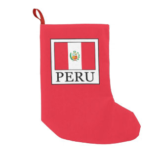 Peru Small Christmas Stocking